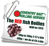 Coventry Bait Rolling Services Cov Red Boilies